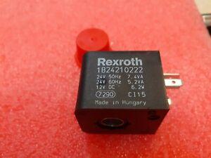 1824210222 -   REXROTH  Aventics Solenoid Coil Form A (DIN 43650) 24VAC