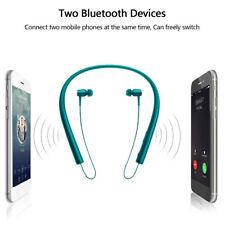 Wireless Bluetooth Headset Stereo Headphone Neckband Earphone For iPhone Samsung