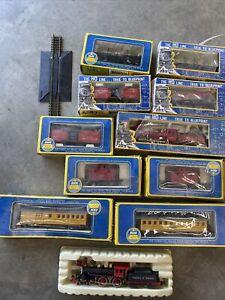 HO AHM 9 Cars And 2 Engines Pocher Virginia & Truckee J.w. Bowker Original Boxes