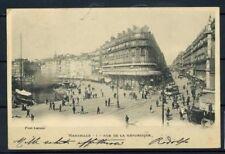 Francia 1902 Mi. Z12 Cartolina 100% Marseille- viaggiata