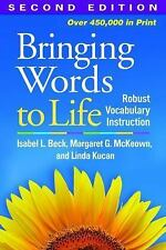 NEW Bringing Words to Life Second Edition: Robust Vocabulary Instruction