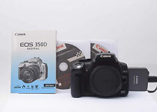 Canon EOS (350 d) digital 8,2mp body carcasa CD, manual de instrucciones nº 952