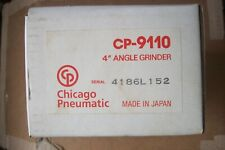 "New Chicago Pneumatic 4"" Angle Grinder CP-9110 Made in Japan"