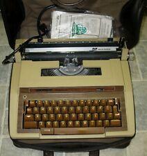 VINTAGE SMITH CORONA ELECTRIC TYPEWRITER ORIG CASE &  MANUALS