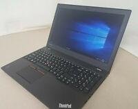 "Lenovo ThinkPad T550 15.6"" Intel Core i5-5300U 2.30GHz 8GB RAM 500GB HDD WIN 10"
