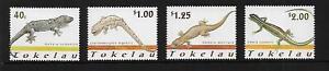 2001 Lizards set of 4  MUH/MNH as scan