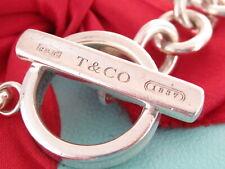 """Tiffany & Co Silver 1837 Toggle Bracelet 8.25"""""""