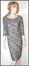 Phase Eight Women's Knit Striped 2/3 Sleeve Dress/Jumper size UK 12  EUR 40