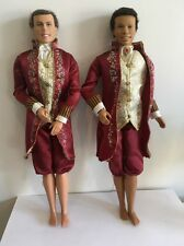 MATTEL BARBIE DOLL 2 X KING DOMINICK FROM PRINCESS AND THE PAUPER