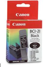 (5 PACK) *GENUINE* CANON BCI-21 BLACK INK CARTRIDGE