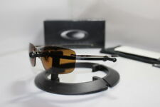 New Oakley Nanowire 1.0 Sunglasses Brown Chrome w/Bronze Polarized Lens 30-754