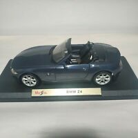 Bmw Z4 Scale 1/18 Maisto Blue Special Edition Used