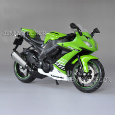 1:12 Maisto Diecast Motorcycle Model Kawasaki Ninja ZX-10R Sport Bike Replica