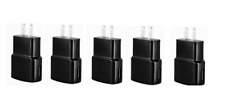 5x 2AMP USB POWER ADAPTER WALL CHARGER For SAMSUNG GALAXY S NOTE LG HTC Black