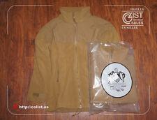 NEW! USMC POLARTEC 300 GM Fleece Jacket Shirt ECWCS Gen II Coyote M/R Liner DSCP