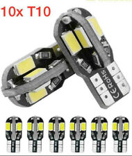 Lot de 10 Bombillas  8 LED T10 W5W SMD Luz Blanca Coche Interior Posición anbis