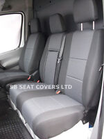 MERCEDES SPRINTER VAN  SEAT COVERS 2012 MODEL MADE TO MEASURE- MERC ANTHRACITE