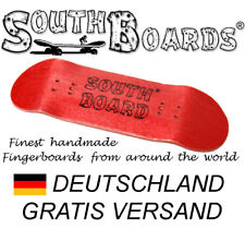 #2 Rot - SOUTHBOARDS® Handmade Wood Fingerboard Deck, Holz
