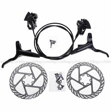 AVID DB 1 DB1 MTB Hydraulic Brake Set Front and Rear Black G2 160mm Rotor