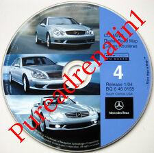 02 2003 MERCEDES BENZ S430 S55 S500 S600 NAVIGATION MAP NAV DISC CD LA OK MI AR