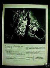 1945 John Hancock Life Insurance Business Office Art AD