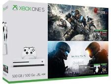 Microsoft Xbox One S 500GB - Gears of War & Halo Bundle