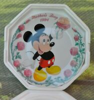 "Mickey Mouse 1994 Grolier Disney ""Mother's Day"" Plate Unused Original Box NIB"