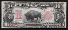 US $10 1907 Bison Legal Tender FR 114 VF (-365)