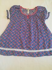 Girls MATILDA JANE Friends Forever DARCI Top Blouse Shirt Size 6, EUC