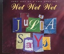 Wet Wet Wet / Julia Says - CD1 - MINT