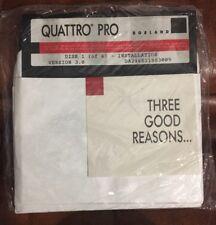 Borland Quattro Pro Ver 3.0