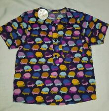 Boutique Nimm Kids Girls Cotton Shirt Size 4 Years Hedgehogs print