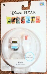 """M-O ROBOT 2"""" ACTION FIGURE. WALL-E. Disney Pixar. Janitor. NEW. Thinking Toy. NR"""