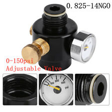 Paintball Aluminium Adjustable Regulator Output Pressure 0-150psi 0.825-14NGO