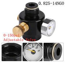 Paintball Aluminium Adjustable Regulator Output Pressure 0-150psi 0.825-14NGO