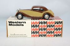 Western Models Rolls Royce Coupe? 1:43 2 tone Mint in box all original