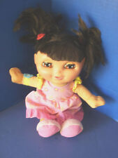 Fisher Price~Talking & Singing Sleepy Dream Dora Bedtime Doll~Eyes Open & Close