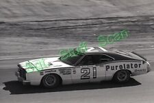 1975 NASCAR racing Photo negative Riverside Int Raceway David Pearson Mercury