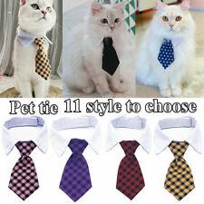 Haustier Einstellbar Hund Katze Welpe Kätzchen Halsbinde Krawatte Fliege  Q