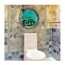 3D Ocean Fish Wall Sticker Vinyl Art Decals DIY Mural Kids Room Decor Removable
