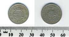 Mozambique 1954 - 2-1/2 Escudos Copper-Nickel Coin - Portuguese Colony