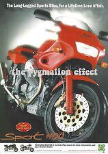 Moto Guzzi Sport 1100 - Original 1995 Vintage Single page Magazine Advert
