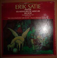 SEALED Erik Satie ballets : Parade, Les Aventures de Mercure LP - Utah Abravanel