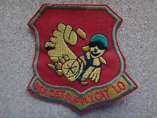 US Army Detachment SUPPLY At CAT LO Vietnam War Patch