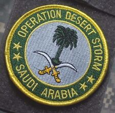 Opération Desert Storm '91 Paume Arbre De Saoudien Arabie Νeι ⚙ Insignes