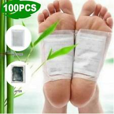 100Pcs Fusspflaster Detox Foot Pads Vitalpflaster Entgiftung Entschlackung Set D