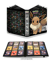 Pokemon Album Portfolio Binder Folder Ultra Pro 360 Card Storage Eevee Art
