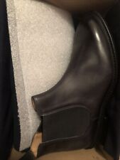 Tricker's Roxbury Pull On Boots Black Museum Made In England UK 10.5 US 11 $670