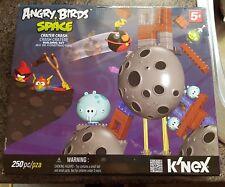 Angry birds space playset Knex Crater Crash rare VGC 250 piece