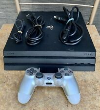 SONY PlayStation 4 PS4 Pro Black Console (w/ Controller & Cables)